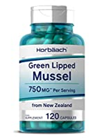 SUPER STRENGTH - 750mg Freeze Dried Pure Green Lipped Mussel from New Zealand SUPPER BENEFICIAL - contains naturally occurring omega 3 fatty acids and Glycosaminoglycans (GAGs) SUPER SUPPORT - for your joint & bone health, mobility & comfort HORBAACH...