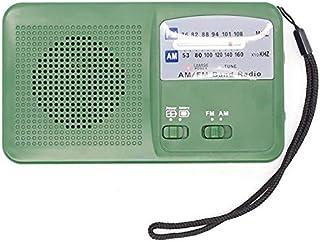 راديو - راديو طوارئ TTKK راديو AM راديو راديو شمسي يدوي مع ضوء LED ساطع وبطارية مدمجة للهواتف الذكية BPUP-4001079547284-001