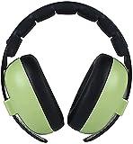 HSJ WYQ- Conjunto de Tambor Earmuffs Baby Aircraft Orejeras insonorizadas Reduce el ruído (Color : Green)