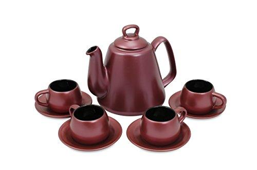 Conjunto Para Café Tropeiro Ceraflame Rose Gold 44 X 31, 5 X 16 Cm No Voltagev