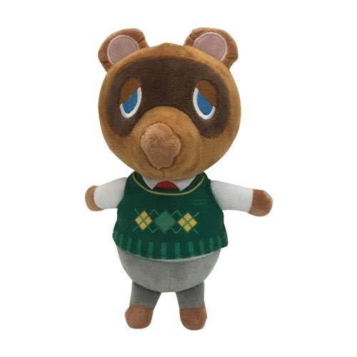 N/K Animal Crossing Plüschtier Cartoon Cute Animal Dog Bear Bär Gefüllt Plüschtier Animal Crossing Plüschtier