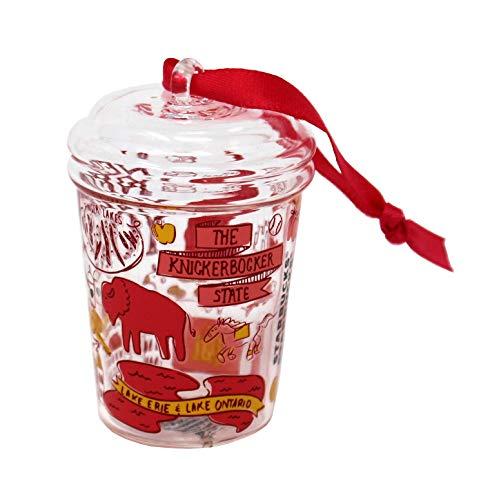 Starbucks Been There Series New York Knickerbocker Holiday 2020 Glass Ornament