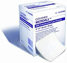 Kendall AMD Antimicrobial Foam Dressings 4