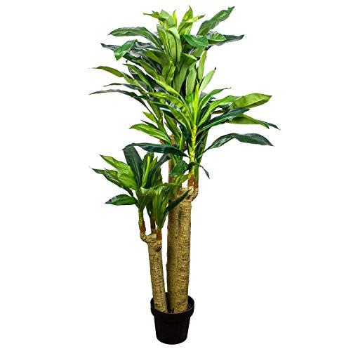 Euro Flora Artificial Tree Pot Dracaena 155 Cm