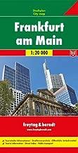 Frankfurt City Map 1:20K FB (English and German Edition)