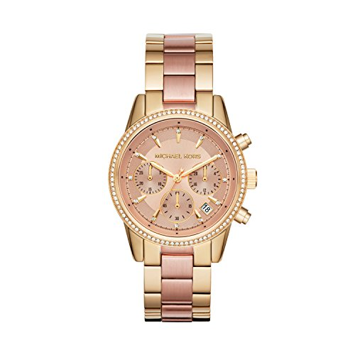 Michael Kors Women's Ritz Gold-Tone Watch MK6475