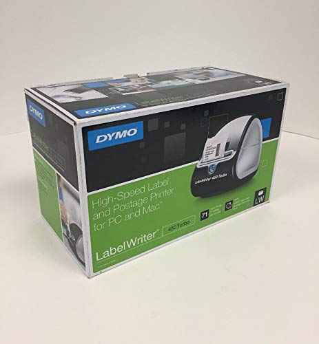 DYMO LabelWriter 450 Series PC Connected Label Printers LABELMAKER,450 TURBO,BK
