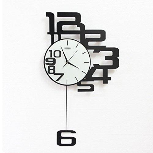 Minimalista Moderno Sala de Estar Reloj Electrónico Casero Reloj de P