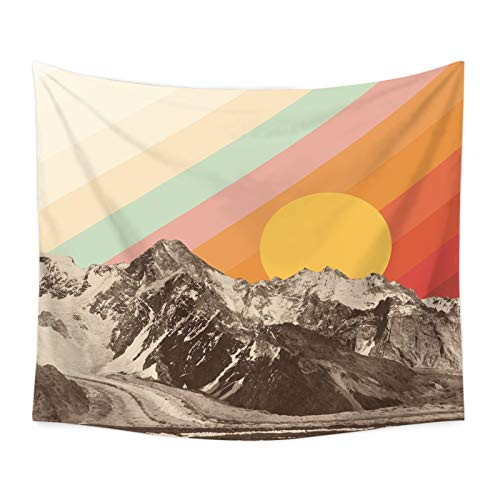 MYBHD Sun Tapiz de decoración de la Pared Que cuelga (Color : 3, Size : 95x73cm)