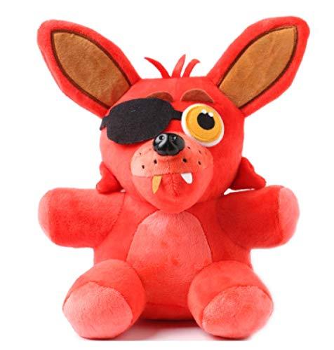nanyin Five Nights At Freddy'S 4 Plush Toys 25Cm, Lindos Juguetes De Peluche De Peluche Red Foxy, Regalo De Cumpleaños para Niños