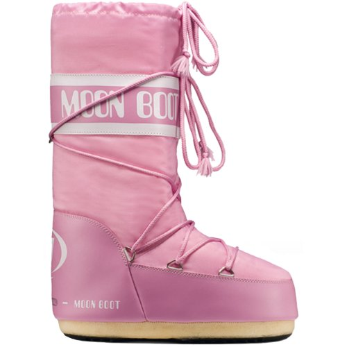 Moon Boot by Tecnica Nylon 14004400-063 Unisex Winterstiefel, pink, Gr. 31-34 EU / 12.5 UK C - 1.5 UK