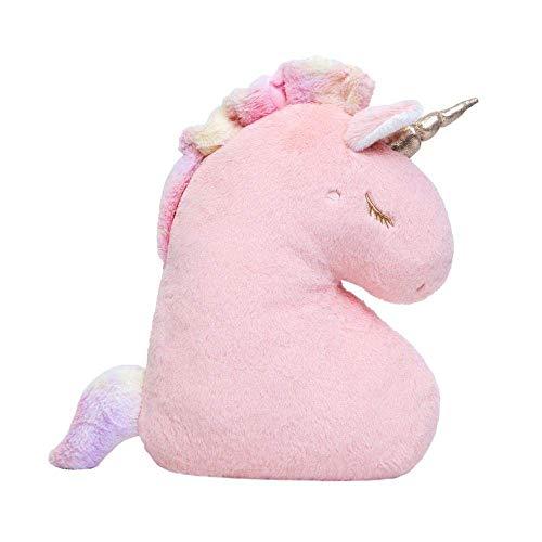 wqmdeshop Peluches 1Pc Unicornio Peluche Almohada Cojín Almohada Relleno Suave Peluche Unicornio Juguete Decoración De La Habitación Juguetes para Niños Novia Niños Regalo De Cumpleaños