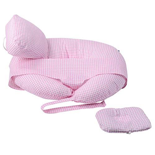 Neugeborenenpflege Stillkissen Verstellbare Kissenhöhe Multifunktionale atmungsaktive Stützpolster können Rückenschmerzen lindern,B