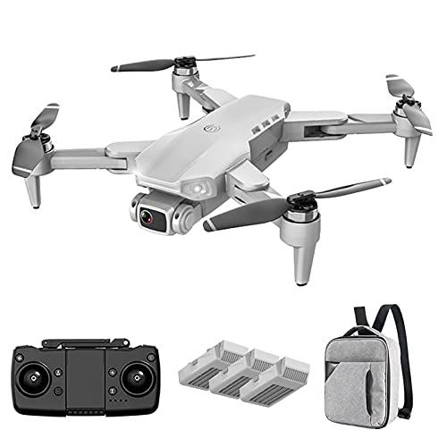 Drone GPS FPV con videocamera Live 4K HD per Adulti e Bambini, quadricottero RC con Ritorno Automatico GPS a casa, Mantenimento dell'altitudine e modalità seguimi, Tempo di Volo Lungo (Grigio 3)