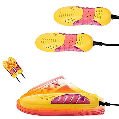 NMSLCNM Schuhtrockner Schuhheizung Schuhwärmer Elektrische Schuh Stiefel Handschuh Socke Trockner Trocknen Skischuhe Handschuhe Socken, Stiefeltrockner, Gerüche zu Beseitigen, 1 Paar (rot)
