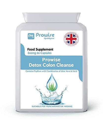 Detox Colon Cleanse - Diät zum Abnehmen - Hergestellt in Großbritannien - von Prowise Healthcare