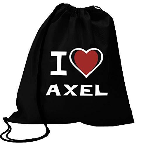Idakoos I Love Axel Bicolor Heart Bolsa Deportiva 18' x...