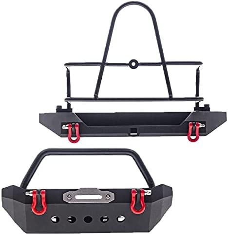 Max 90% OFF Facibom Universal Metal Popular overseas Front and with Spare Rear Bumper Ti