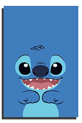 Lilo and Stitch Stitch Cartoon Minimalist Poster Bedroom Wall Art Wall Art Poster for Nursery or Kids Room Home Decor No Frame 12x16 inch