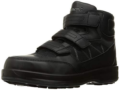 [シモン] 安全靴 ハイカット JSAA規格 耐滑 快適 SL28 黒 23.5 cm 3E