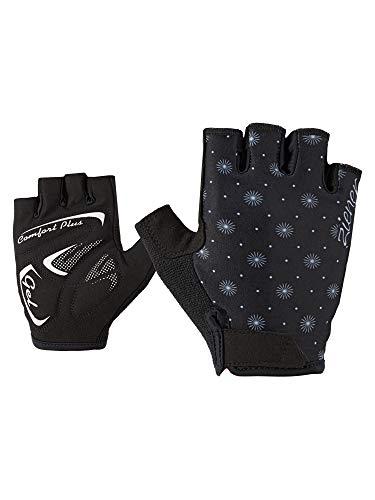 Ziener Damen CALINDA Fahrrad-, Mountainbike-, Radsport-Handschuhe | Kurzfinger - atmungsaktiv/dämpfend, black, 7