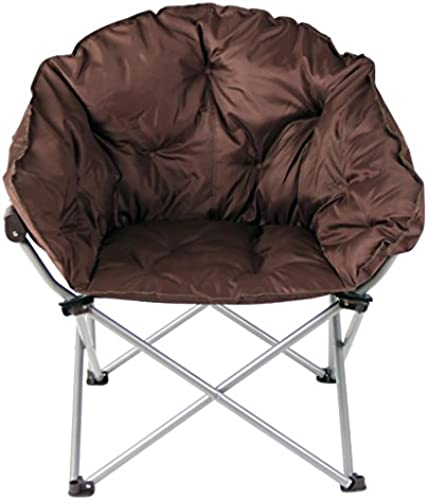 Yuan Yuan Moon Stuhl Lounge Stuhl Klappstuhl Zurück Balkon Outdoor Alter Freizeit Stuhl Portable braun