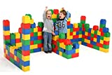 Polesie Building Bricks XXL Juego de Juguetes de construcción-72 Piezas, Multicolor (41999)