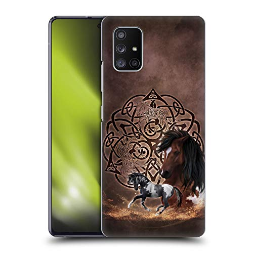 Head Case Designs Officially Licensed Brigid Ashwood Horse Celtic Wisdom Hard Back Case Compatible with Samsung Galaxy A51 5G (2020)