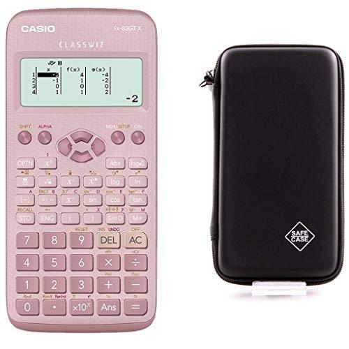 Casio FX-83 GTX Pink + SafeCase Schutztasche