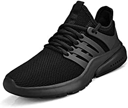 Biacolum Women's Non Slip Shoes Running Lightweight Breathable Slip Resistant Sneakers Workout Walking Work Food Service Shoes Black 9 M