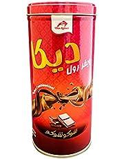 Deka Wafer Roll Choco Choco Tin Can, 125 g - Pack of 1 V2000