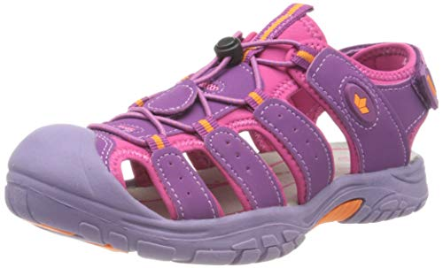 Lico Mädchen Nimbo Geschlossene Sandalen, Pink (Pink/Lila/Orange Pink/Lila/Orange), 28 EU