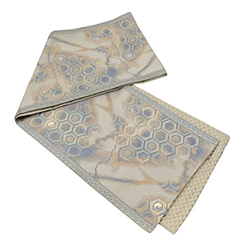 Generico Table Runner Coffee Color Honeycomb Printing Marble Pattern Living Room Long Table Decoration Table Cloth 33x200cm
