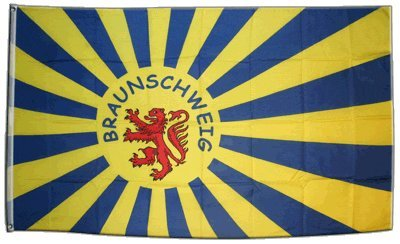 Flagge Fanflagge Braunschweig - 90 x 150 cm