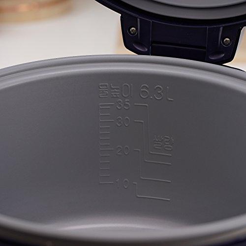 Cuckoo Gastronomie Reiskocher CR-3511 Ersatztopf (6,3 L, für bis zu 35 Personen)