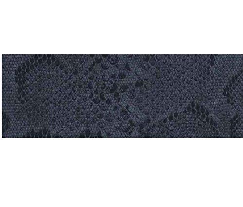 Klebefolie - Möbelfolie - Schlange schwarz - Animal Print - 0,45 m x 15 m Selbstklebende Folie Schlagenhaut Muster - Bastelfolie Selbstklebefolie Dekorfolie