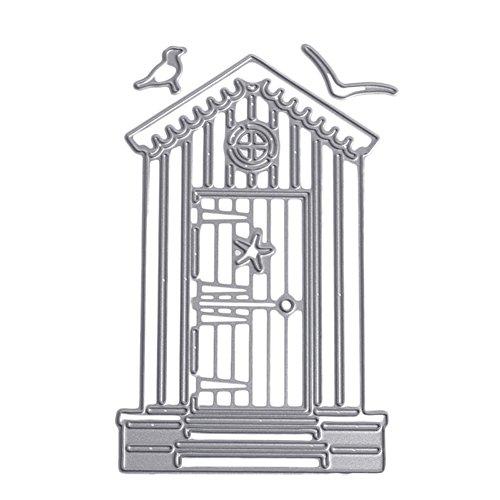 Demiawaking Schön Baum Form Stanzschablonen Metall Schneiden Schablonen für DIY Scrapbooking Album, Schneiden Schablonen Papier Karten Sammelalbum Dekor (24)