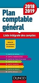 Plan comptable général 2018/2019 - 19e éd. - Liste intégrale des comptes de Charlotte Disle