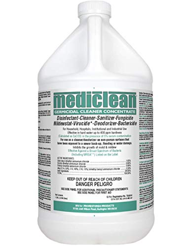 Mediclean Germicidal Cleaner Concentrate, Disinfectant,...