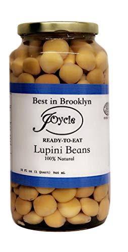 Joycie Ready To Eat Lupini Beans 32 OZ Jar (Pack of 6)