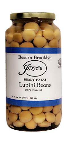 Joycie Ready To Eat Lupini Beans 32 OZ Jar (Pack of 6)