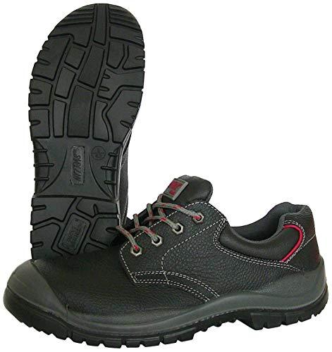 Zapatillas de Trabajo Nitras 7200 Step I - Zapatillas de Seguridad S3 para Hombres y Mujeres - Zapatillas Resistentes al Agua con Punta de Acero - Negro, Tamaño 43