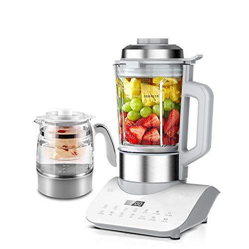 N / C Automatische Kochmaschine, Haushaltsheizung kleine Sojamilchmaschine, Silent Mixer Smoothie-Maschine, 1,6 l zum...