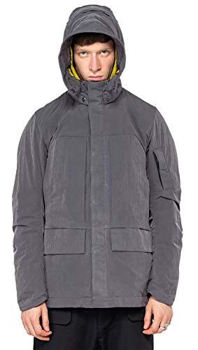 KRAKATAU ELMAG Field Jacket Herrenjacke, Parka, Grau XL
