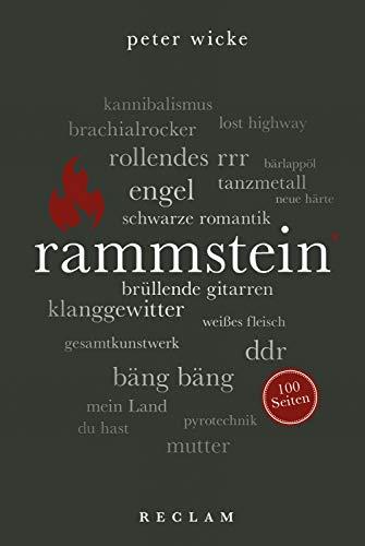 Rammstein. 100 Seiten: Reclam 100 Seiten