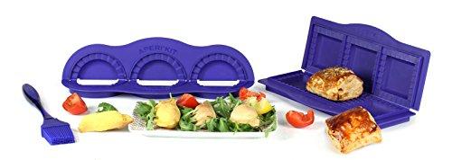 Yoko Design Set für Aperitif Aperikit 1263/Gebäck Kunststoff Violett 27,5 x 18 x 3,5 cm
