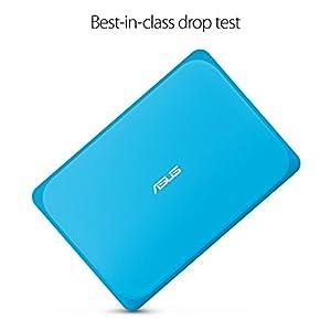 ASUS VivoBook W202NA-DH02 Rugged 11.6-inch Windows 10 Home Laptop, Intel Dual-Core Celeron processor 2.4 GHz, 4GB Ram, 64GB emmc hard drive, spill proof keyboard, USB 3.0, HDMI, webcam, 2.6 lbs.