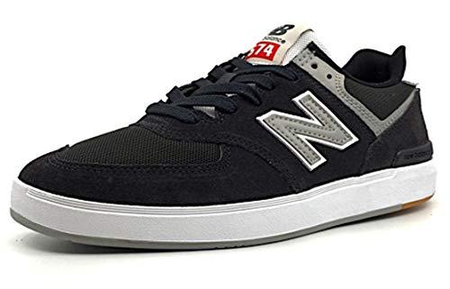 NEW_BALANCE NUMERIC - Zapatillas de Skateboarding para Hombre Negro Negro Negro Size: US 8 EUR 41,5