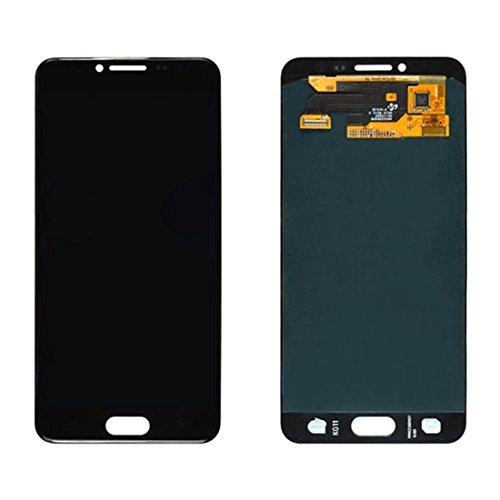 Revisione sostituzione per parti del telefono IPartsAcquista for display LCD Samsung Galaxy C5 / C5000 + accessorio for assemblaggio digitizer touch screen ( Size : For samsung galaxy c5/c5000 black )