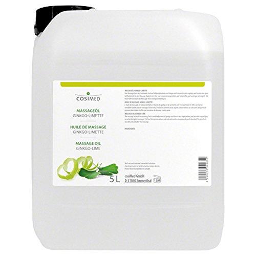 cosiMed Massageöl Ginko-Limette, 5 l